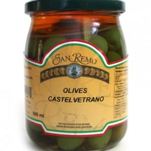 Castelvetrano Olives 500ml jar