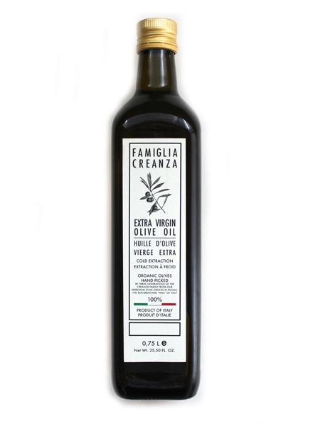 Famiglia Creanza Extra Virgin Olive Oil