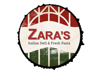 Zara's Deli & Fresh Pasta Logo
